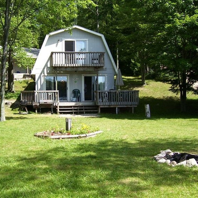 Harper lake rental house front
